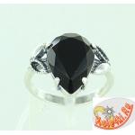 Серебряное кольцо с ювелирным стеклом
