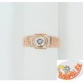 Серебряное православное кольцо с фианитом