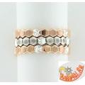 Серебряное кольцо-трансформер