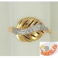 Золотое кольцо из золота 585 пробы
