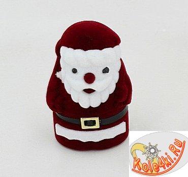 """Футляр для колец и сережек """"Дед Мороз"""""""