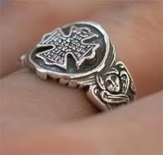 Старинный славянский перстень из